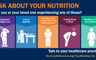 Malnutrition Awareness Week is Sept. 23-27