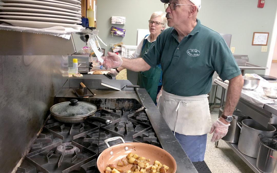 Rochester Senior Center's Breakfast Program Turns 10