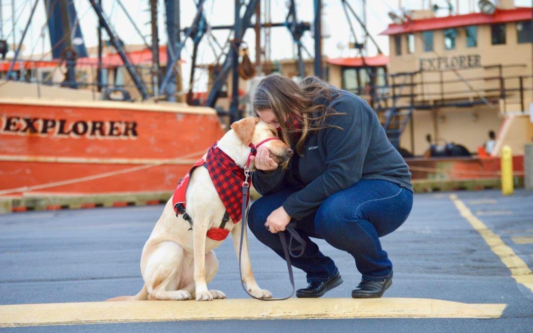 Canine Companion Lends an Ear