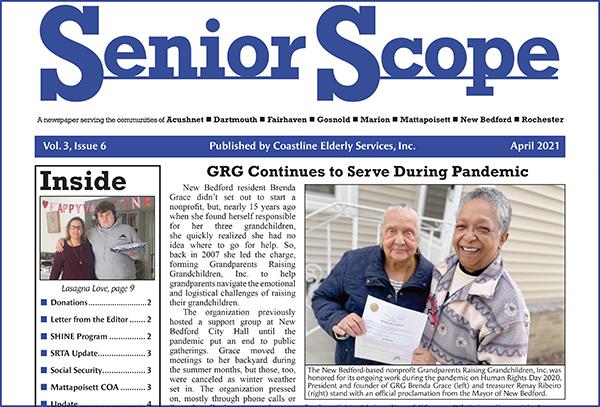 Senior Scope's April 2021 Edition Out Now
