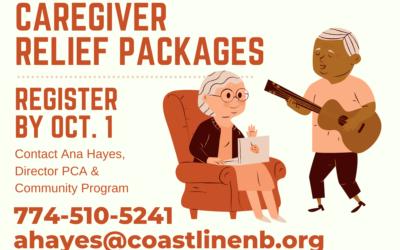 Coastline Providing Caregiver Relief Packages this November