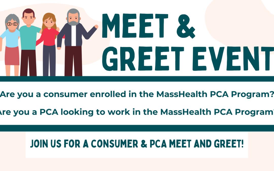 PCA Program Meet & Greet Event